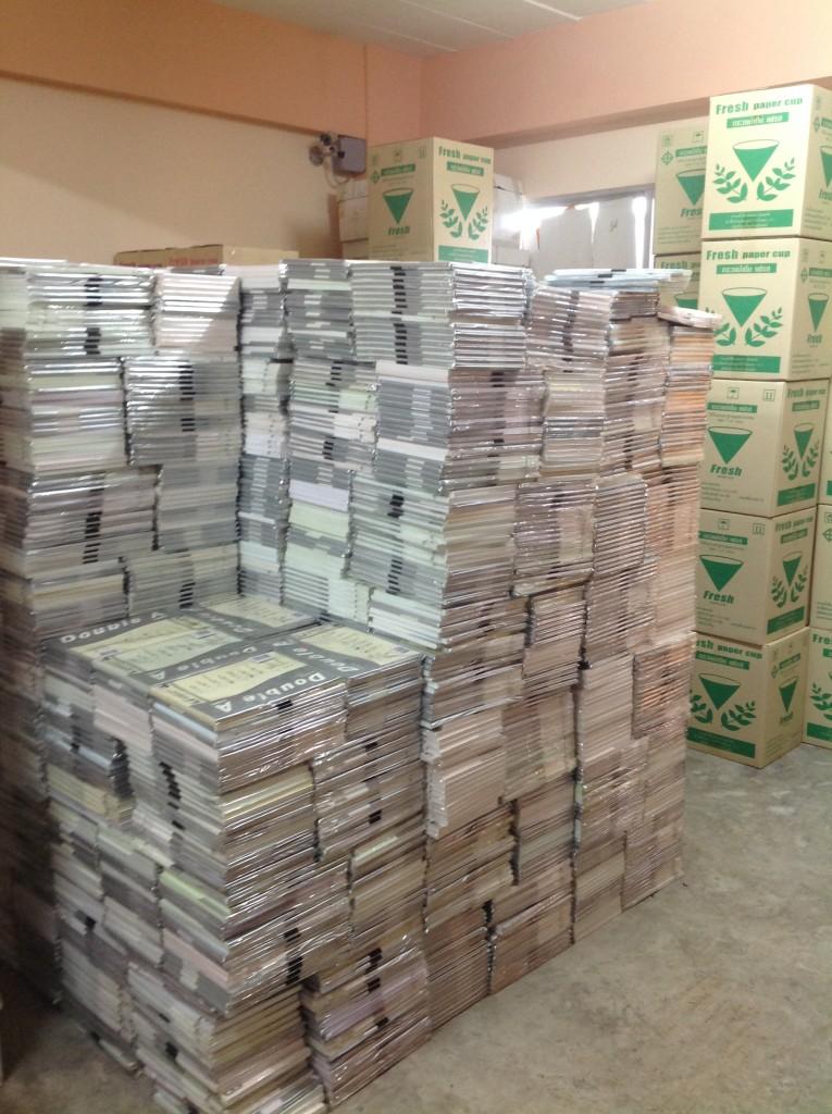 ขายกระดาษa4ทุกชนิด รายงาน ซองจดหมาย กระดาษสี ราคาถูก ปลีกส่ง